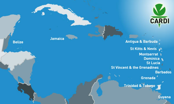 Country Offices Caribbean Agricultural Research Development